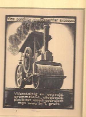 Stoomwals [Steamroller], from XXIV Emblemata: Escher, Maurits Cornelis