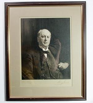 Original silver bromide photograph of John Singer: James, Henry) Sargent,