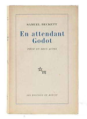 En attendant Godot. Pièce en deux actes: Beckett, Samuel