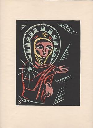 Christos, Madonna a Svatí jak jsem je videl r illuminacích starych Ethiopskych Kodexe: Hofman, ...