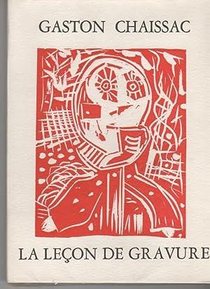 La leçon de gravure en douze linos originales: Chaissac, Gaston
