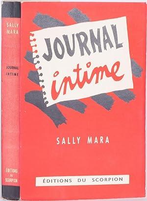 Journal Intime: [Queneau, Raymond] ; Sally Mara, pseudonym