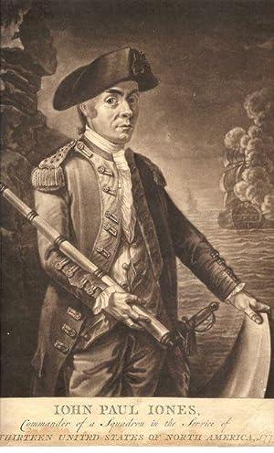 Mezzotint portrait: John Paul Jones, Commander of a Squadron in the Service of The Thirteen United ...