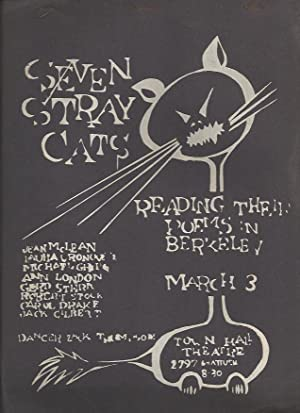 Poetry San Francisco Presents Seven Stray Cats Reading Their Poems in Berkeley.; Jean McLean, Laura...