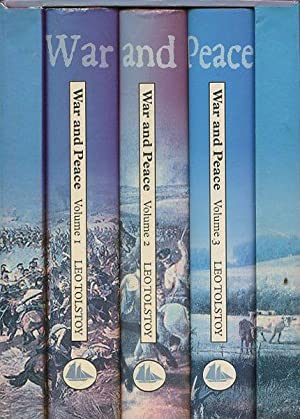 war and peace collectors library 3 volumes leo tolstoy
