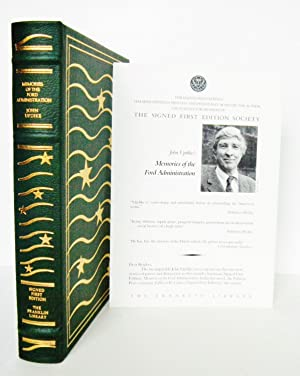 MEMORIES OF THE FORD ADMINISTRATION [Signed, Limited, Leather-bound]: Updike, John