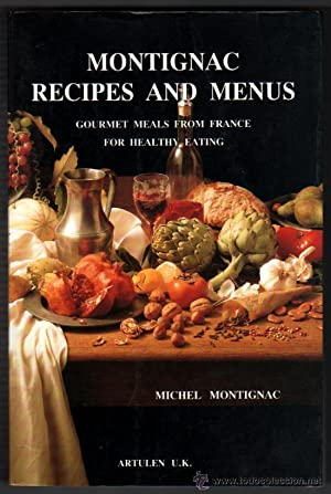 MONTIGNAC - RECIPES AND MENUS - MICHEL MONTIGNAC - LAMINAS COLOR - EN INGLES