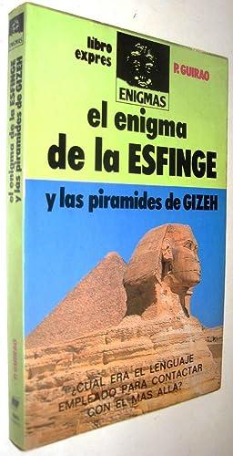 EL ENIGMA DE LA ESFINGE Y LAS: P.GUIRAO
