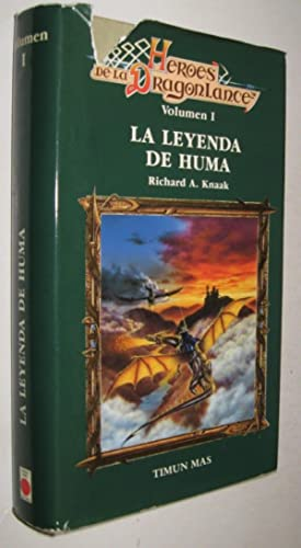 LA LEYENDA DE HUMA - RICHARD KNAAK