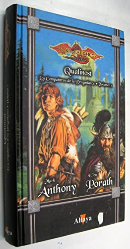 QUALINOST LOS COMPAÑEROS DE LA DRAGONLANCE VOLUMEN 1 - MARK ANTHONY Y ELLEN PORA