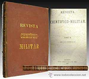 1877 - Importante Documento - REVISTA CIENTIFICO MILITAR
