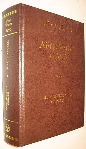 EL MANUSCRITO CARMESI: ANTONIO GALA