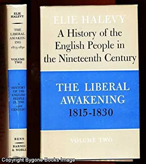A History of the English People in: Halevy, Elie