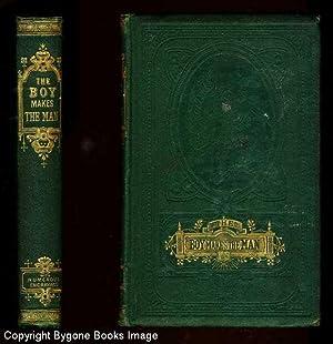 THE BOY MAKES THE MAN A Book: Davenport Adams, W.H.