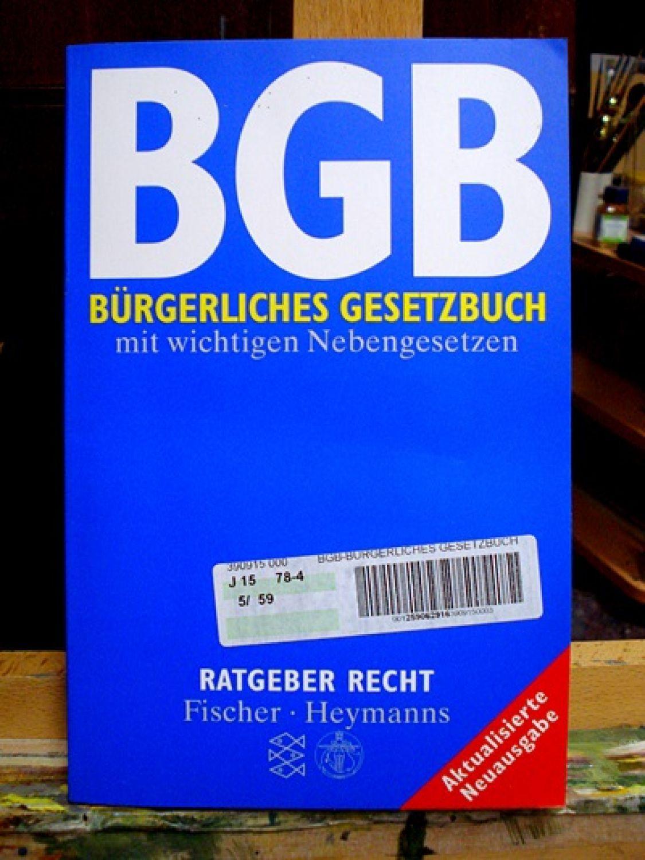 buergerliches gesetzbuch bgb zvab. Black Bedroom Furniture Sets. Home Design Ideas