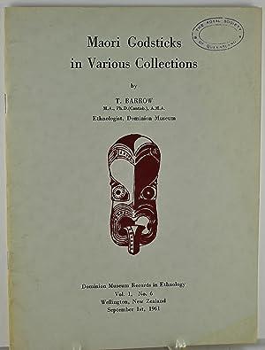 Maori Godsticks in Various Collections Dominium Museum: Barrow, T.