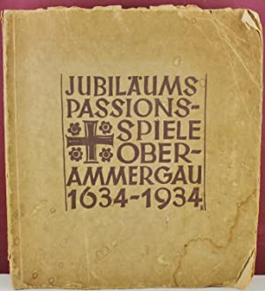 Jubilaums Passionsspiele Oberammergau 1634-1934 Signed by the actors