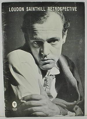 Loudon Sainthill Retrospective 1919-1969 Melbourne International Festival: Sainthill, Loudon; Williams,