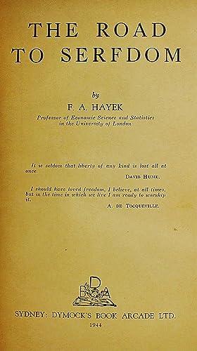 The Road to Serfdom 1st Australian Edition: Hayek, F.A.