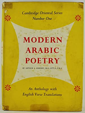 Modern Arabic Poetry an anthology with English: Arberry, Arthur J.