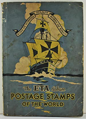 The ETA Stamp Album for Postage Stamps of the World 1934 containing hundreds of 1930's stamps