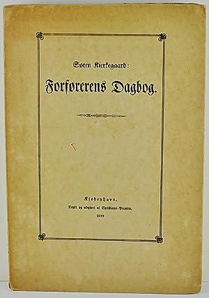 Forforerens Dagbog: Kierkegaard, Soren