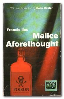 Malice Aforethought: Iles, Francis