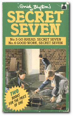 Go Ahead, Secret Seven / Good Work,: Blyton, Enid