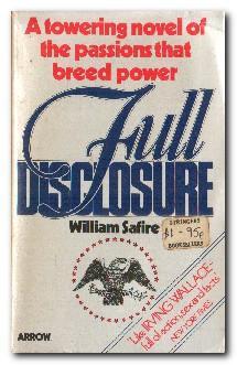 Full Disclosure: Safire, William