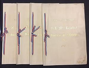 Visita á Madrid del Presidente de la República Francesa S. E. Mr. Loubet. Itinerarios...