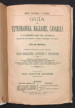 Guia Del Viajero En Extremadura, Baleares, Canarias y Portugal: Emilio Valverde