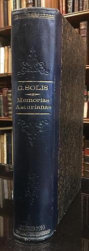Memorias Asturianas: Protasio González Solís y Cabal