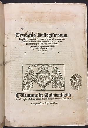 Tractatus Sillogismorum Magistri Fernandi de Enzinas /: Fernando de Enzinas