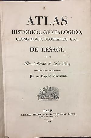 Atlas Histórico, Genealógico, Cronologico, Geográfico y Estadistico: Conde de Las