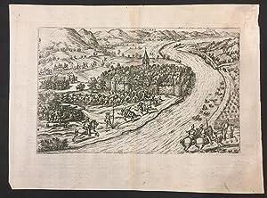 Onckel. Grabado de Franz Hogenberg de la: Michael Attzinger. Franz