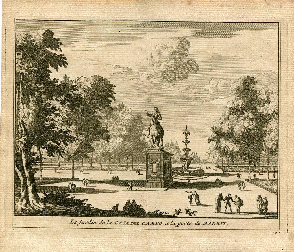 Le Jardin De La Casa De Campo A La Porte De Madrid Por Pieter Van