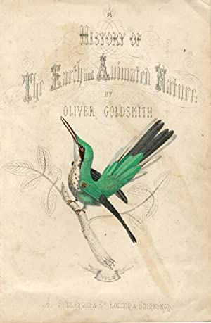 Pájaros. History of the Earth and Animated Nature Oliver Goldsmith.