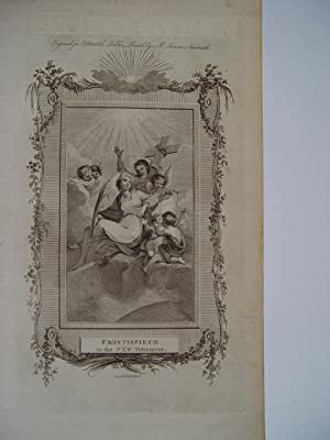 «Frontispiece to the New Testament. Grabado por Ralph Beilby &Bewick
