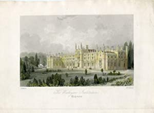 Inglaterra. Richmond. «The Wesleyan Institution» grabdo en 1850 por H. Adlard sobre obra de T. Al...