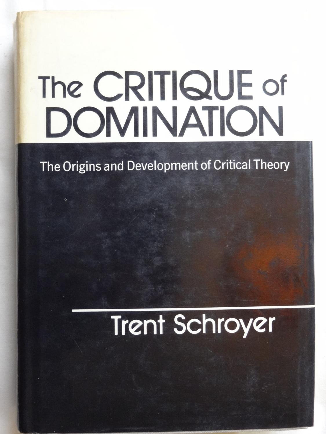 Maybe, were Critique of domination can help