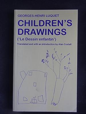CHILDREN'S DRAWINGS ('Le dessin enfantin'): LUQUET, Georges-Henri. trans