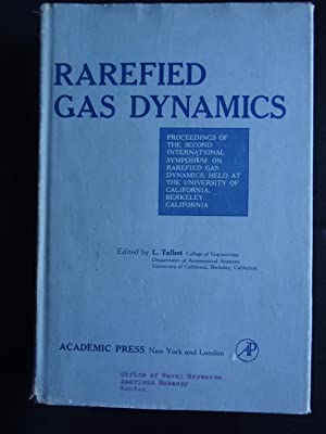 RAREFIED GAS DYNAMICS Proceedings of the Second: TALBOT, L. (ed.)