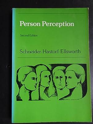 PERSON PERCEPTION: SCHNEIDER, David J.,
