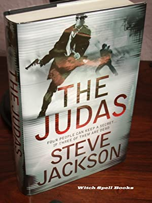 The Judas : +++FOR THE DISCERNING COLLECTOR A SUPERB SIGNED AND DATED UK FIRST EDITION, FIRST PRI...