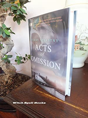 Acts of Omission : ++++FOR THE DISCERNING COLLECTOR, A BEAUTIFUL UK SIGNED AND PRE PUBLICATION DA...