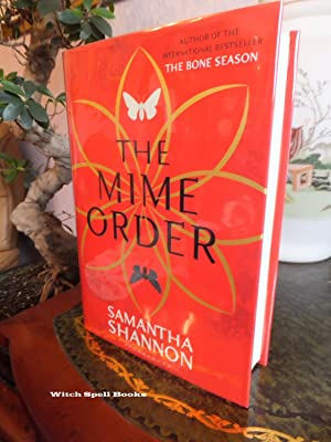 The Mime Order :The Bone Season 2 : ++++FOR THE DISCERNING COLLECTOR, A BEAUTIFUL UK SIGNED, STAM...