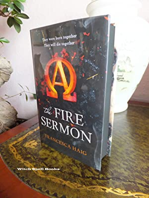 The Fire Sermon (Alpha edition ) : ++++FOR THE DISCERNING COLLECTOR, A BEAUTIFUL UK SIGNED, STAMP...