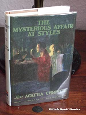 The Mysterious Affair at Styles : +++FOR THE DISCERNING COLLECTOR, A BEAUTIFUL FIRST PRINT HARDBA...