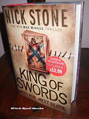 King of Swords : ++++FOR THE DISCERNING COLLECTOR A BEAUTIFUL SIGNED,STAMPED WITH GREEN CROSS-SWO...