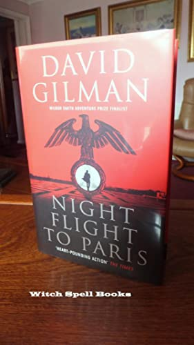 Night Flight to Paris:++++FOR THE DISCERNING COLLECTOR, A BEAUTIFUL UK SIGNED FIRST EDITION, FIRS...